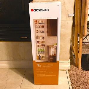 NEW ClosetMaid wall storage rack organizer 8 tier